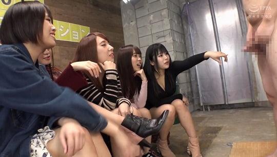 男優オーディションという名のCFNM女性複数センズリ鑑賞AVサンプル16