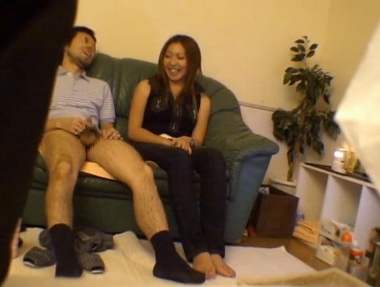 オナクラ愛好会のマニアが趣味で個人撮影したとされる動画のAVサンプル83