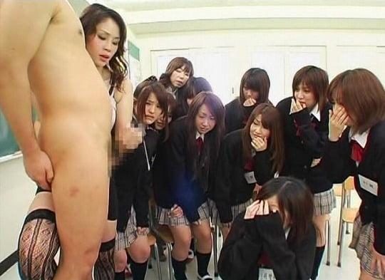 実践型性教育授業!ウブな女子校生に手コキ指南付き射精課外授業サンプル18