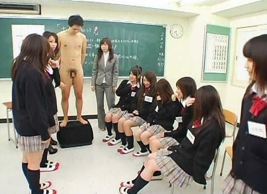 実践型性教育授業!ウブな女子校生に手コキ指南付き射精課外授業サンプル2