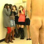 まるでオナクラ6P!複数の女子にCFNM全裸オナ見せプレーサンプル3