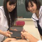 まるでVR作品!完全主観で女子校生CFNM集団センズリ観察サンプル115
