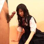 女AV監督が、手コキ・JK制服コスプレ・射精見せる!を作ったサンプル86