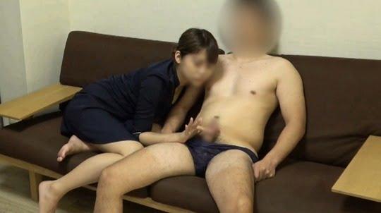 CFNM無修正着衣手コキ射精動画!M男専用癒し風俗を個人撮影サンプル6