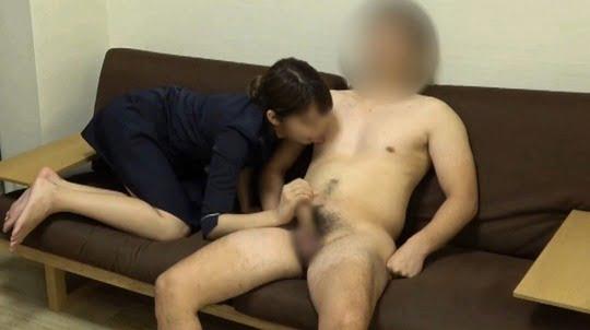 CFNM無修正着衣手コキ射精動画!M男専用癒し風俗を個人撮影サンプル7