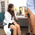 女医と女性看護師による合法露出&強制オナニー射精(CFNM)サンプル57