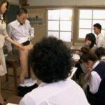AV女優が女教師になって実践型性教育授業をする【CFNM編】サンプル26