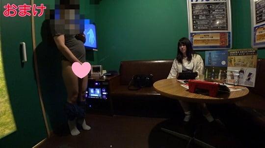 個人撮影CFNM動画!ティッシュ、コンドーム手コキ&センズリサンプル4