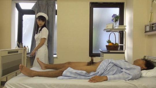 CFNM泌尿器科でナースが精液採取!看護師が見てる前で射精サンプル173