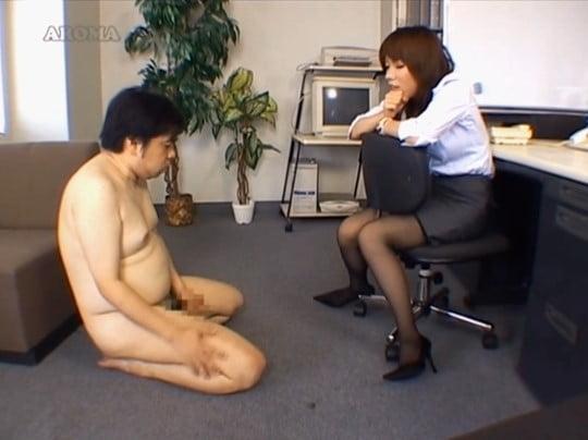 普通の女性に怒られたい露出狂M男!強制オナニーで射精を見せるサンプル112