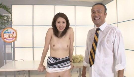 露出・セックスのハードルが異常に低い世界!芸能界・テレビ界編サンプル50