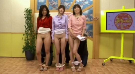 日本版ヌードニュース?女子アナのパンチラ・半裸全裸・局部露出サンプル18