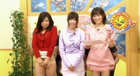 日本版ヌードニュース?女子アナのパンチラ・半裸全裸・局部露出サンプル5