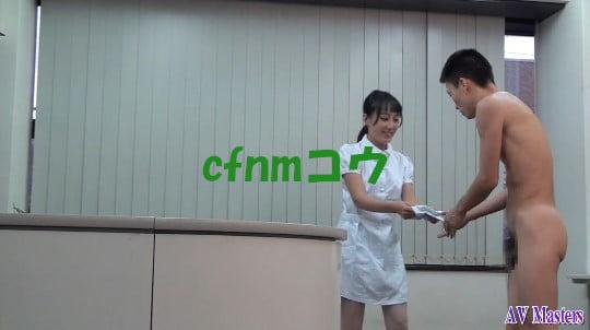 cfnmコウ7作目。女医とナースが射精を見るクリニックサンプル133
