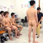 CFNMフルチン男子身体測定に立ち会う女教師!全裸授業4作目サンプル85