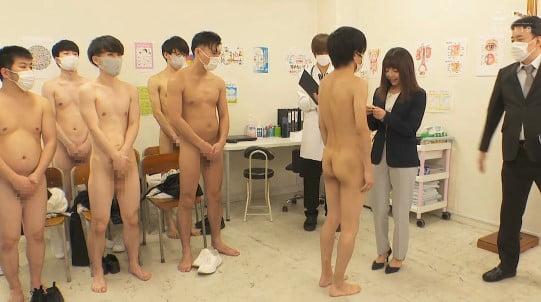 新任女教師が立ち会う性教育授業CFNMフルチン身体測定5作目サンプル24